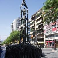 Castellers monument