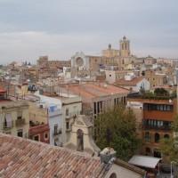 Circ romá - výhled na katedrálu