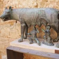 Vlčice, která odkojila zakladatele Říma